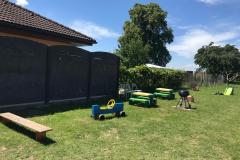 Zadní zahrada
