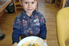 Polévka s dýně hokaido