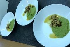 Zelený den - hráškový krém