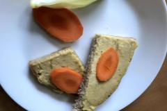 Chlebík s drožďovou pomazánkou